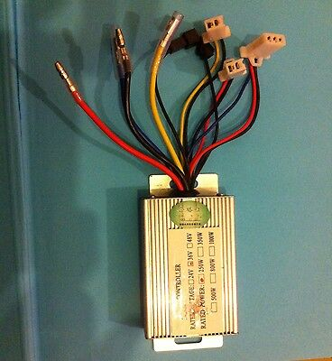 Brush motor Controller Box For Electric Scooter or Bike 36V 250W