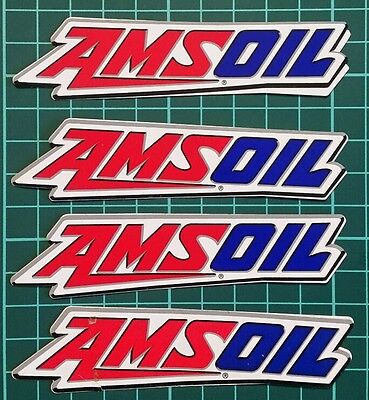AMSOIL racing  decals stickers drags nascar offroad dirt nmca nhra atv off road