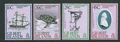 Gilbert & Ellis SG80-83 1979 Bicentenary of Cook's Voyage Unhinged Mint