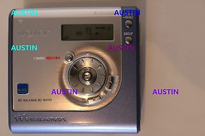 Sony Mz Nh 700 Minidisc Player Recorder With Microphone  Hi Md