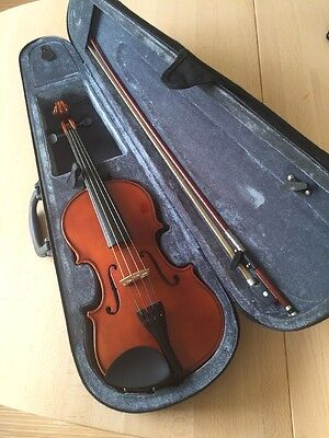 3/4 Size Student Stagg Violin with bow and case