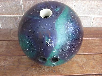 Retro Bowling Ball great condition Deceased Estate Lot 6.8kg Columbia