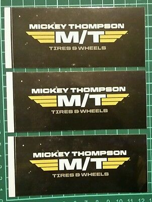 a MICKEY THOMPSON racing decals stickers offroad nhra drags diesel imsa nmca atv