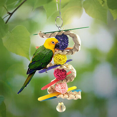 CHEWBALL BIRD TOY parrot cage toys cages natural cockatiel parrotlet