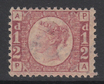 SG 48 1/2d Rose-Red Plate 4 Position PA  in very fine and fresh unmounted mint .