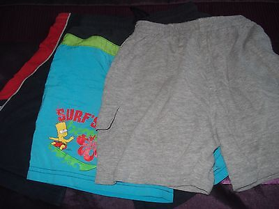 Boys Shorts Aged 4-7 Years x 3