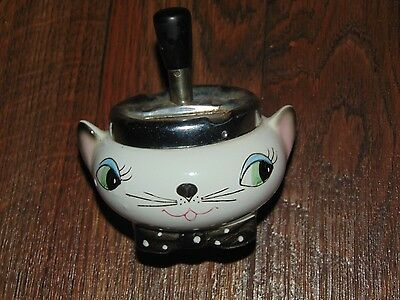 Vintage Holt Howard Purring Cozy Kittens Mid-Century 1950s Cat Plunger Ashtray