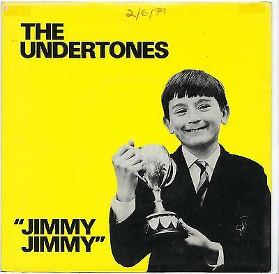 "The Undertones - Jimmy Jimmy - 7"" Single"