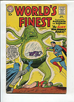 DC Comics Worlds Finest  #110   Very Good/Fine   Silver Age Comic 1960's