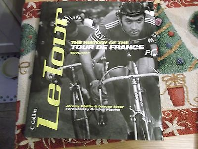Tour De France Book,1903-2007 History Of The Race,hardback,cycling
