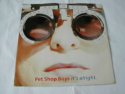 Pet Shop Boys - It's Alright - Parlophone 7""