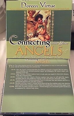 CD - Doreen Virtue - CONNECTING WITH YOUR ANGELS - 6 CD  Set..