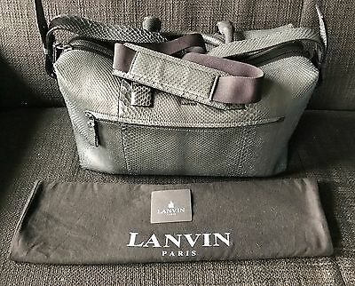 LANVIN - Sac de Voyage Bowling en PYTHON - NEUF + DUSTBAG - New Travel Bag