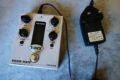 T REX Room-Mate V2    Tube Driven Reverb mint condition £300 new