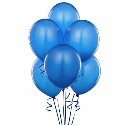 20Pcs Blue Latex Balloons For Wedding Party Birthday Ornament Home Decor