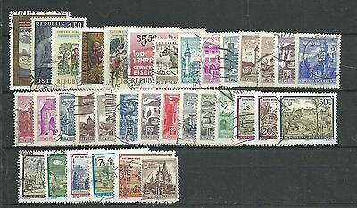 Austria, 34 Various, Used