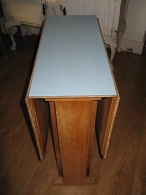 Vintage Retro Formica Dining / Diner, Kitchen Table, 1950's 1960's with 2 chairs