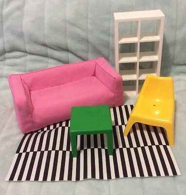IKEA Huset Barbie Size doll house furniture dollhouse accessories