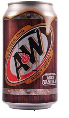 A & W Root Beer 355 ml Cans (Pack of 24)