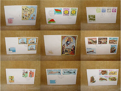 WORLD THEMATIC FIRST DAY COVERS - FDC - MANY TO CHOOSE FROM - 99p + 99p UK p&p