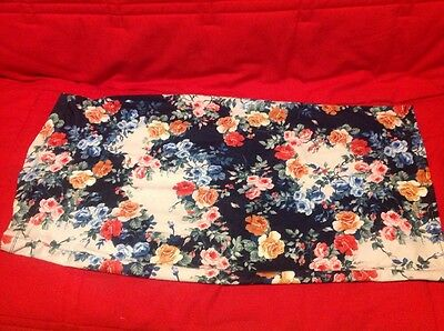 ASOS Floral Maternity Skirt Mid-Length - Size UK 10