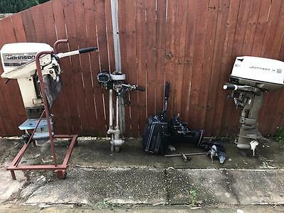 4 Vintage 15 20Hp Johnson 8Hp Evinrude Seagull Outboard Fishing Boat Motor Parts