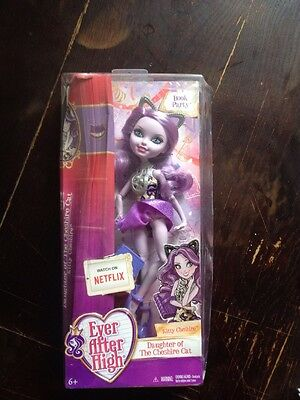 Ever After High Livre Fête Kitty Cheshire Poupée