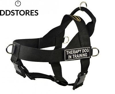 Harnais DT Universal No Pull pour chien, Therapy Dog In Training