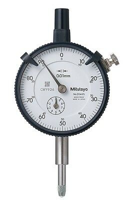 Mitutoyo / Standard Dial Indicator (Flat Type) / 2046Sb / Made In Japan