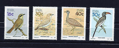 South West Africa (SWA) 1988   Birds of SWA - Full set of 4 MNH