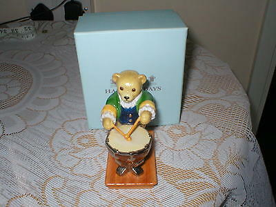 Halcyon Days Figure Teddy Orchestra  Lord Archibald Plays The Kettledrum Boxed