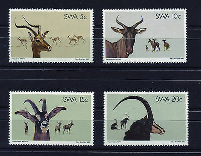 South West Africa (SWA) 1980 - Nature Conservation/Animals - Full set of 4 MNH