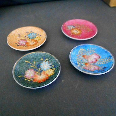 job lot 4 small very unusual plates-dishes