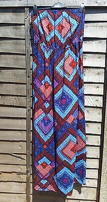 size 16 New Look long strapless maxi dress