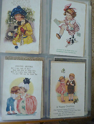 Album And 160 Vintage Mixed Postcards