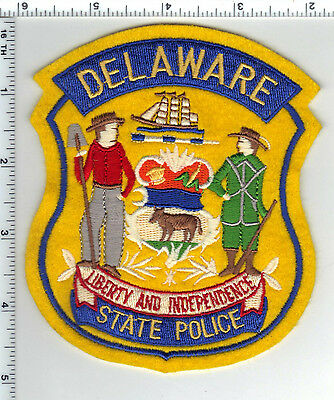 State Police (Delaware)) Shoulder Patch - new from the 1980's