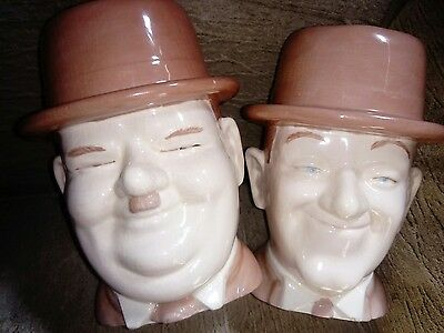 laurel and hardy jugs