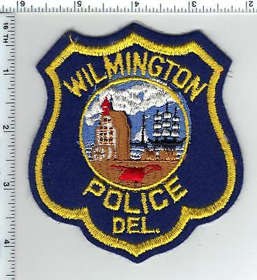 Wilmington Police (Delaware)) Shoulder Patch - new from the 1980's