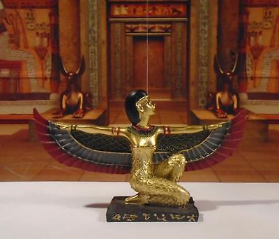Golden Isis Wings outstretched NEW dolls house Egyptian goddess pharoah tomb