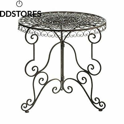 Mica Outdoor 732937 T Table Sissy H70d70 Marron