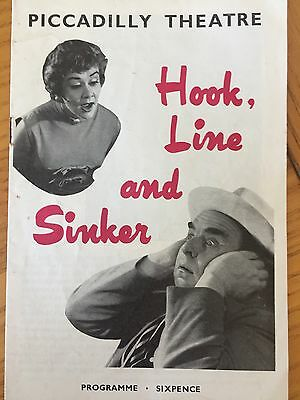 Theatre Programme - Hook Line and Sinker (1958)