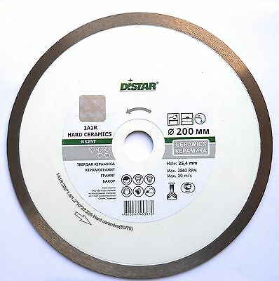 200mm professional diamond blade, disc for cutting porcelain, granite, marble