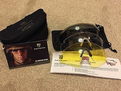 Revision Sawfly Deluxe Ballistic Glasses Brand New