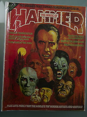The House Of Hammer issues #3,9,11,15,16,20,22 Vintage UK Magazine Horror