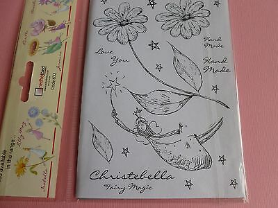 Fairy Rubber Stamp Plate