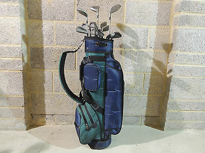 Full Set Of Mens Right Hand Pro Kennex Golf Clubs Bag &Xtras EXC. CON Lovely Set
