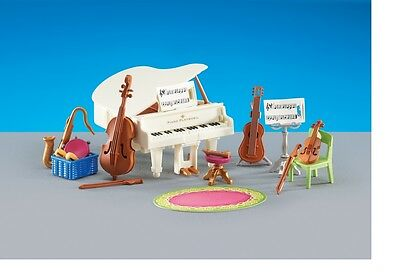 Playmobil 6458  Piano Music Room for Dollhouse Mansion House    (  add one )