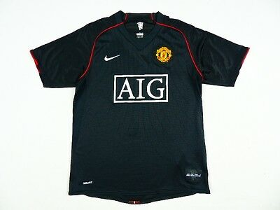 RARE MANCHESTER UNITED NIKE AWAY SHIRT 2007/2009 JERSEY CAMISETA MAILLOT s.M