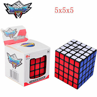 Cyclone 5x5x5 Speed Magic Cube Stickerless Ultra-smooth G5 Cube Puzzle Twist Toy