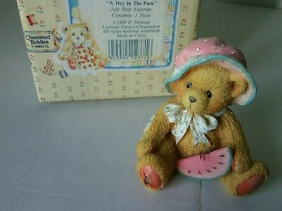 Collectible July Bear Figurine A Day in The Park China Teddy Bears Teddies Gifts